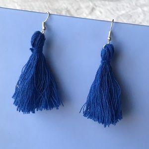 Jewelry - Large Handmade Tassel Earrings